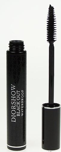 Christian Dior Diorshow Blackout veekindel ripsmetušš 10 ml must