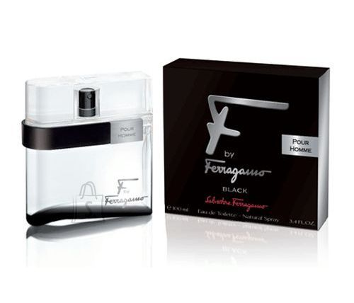 Salvatore Ferragamo F by Ferragamo Black meeste tualettvesi EdT 100ml