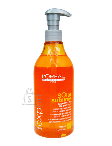 L´Oreal Paris Expert Solar Sublime juuksešampoon 250 ml