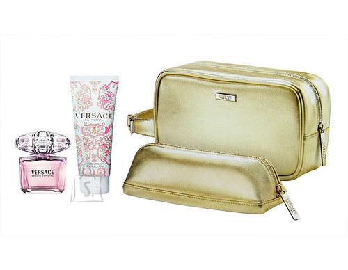 Versace Bright Crystal 190ml naiste lõhnakomplekt + kosmeetikakott