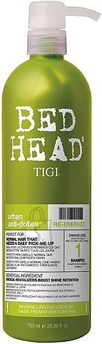 Tigi Bed Head Re-Energize šampoon 250 ml