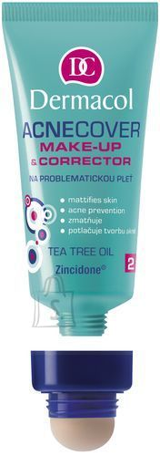 Dermacol Acnecover Make-Up & Corrector 02 jumestuskreem 30 ml