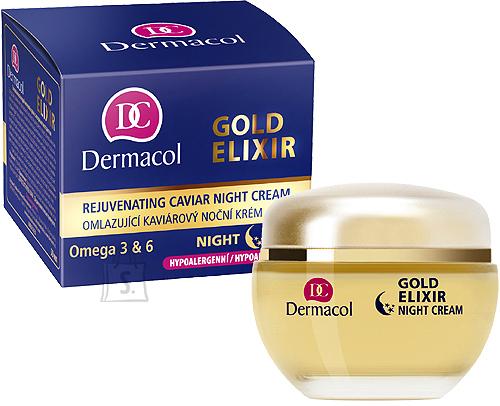 Dermacol Gold Elixir Rejuvenating Caviar Night Cream öökreem 50 ml