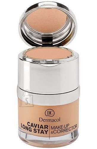 Dermacol Caviar Long Stay Make-Up & Corrector 4 jumestus- ja peite kreem 30 ml