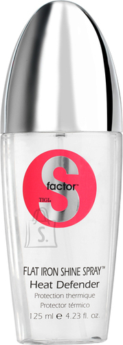 Tigi S Factor Flat Iron Shine Spray Heat Defender kuumakaitse 125 ml