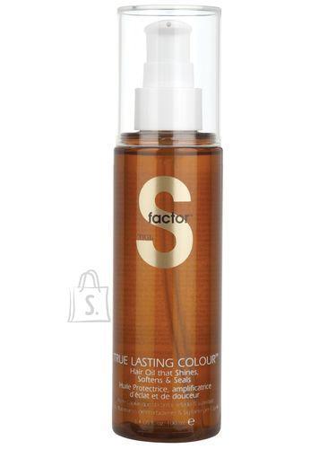 Tigi S Factor True Lasting Colour Hair juukseõli 100 ml