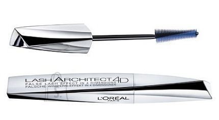 L´Oreal Paris Lash Architect 4D Black ripsmetušš 10.5 ml must