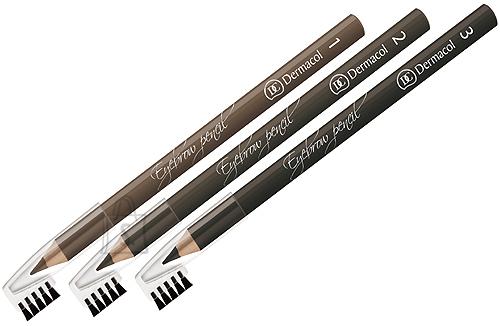 Dermacol Eyebrow Pencil No.3  kulmupliiats 1,6g