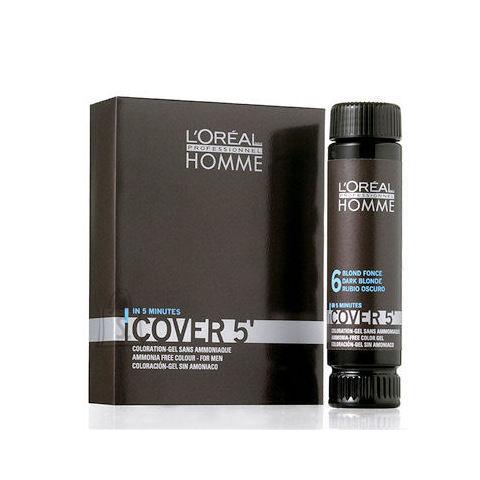 L´Oreal Paris Homme Cover 5 Hair Color juuksevärv meestele 3 x 50 ml