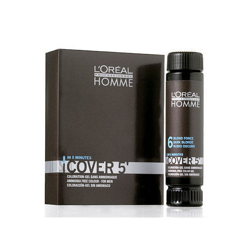 L´Oreal Paris Homme Cover 5 Hair Color juuksevärv meestele 3 x 50 ml