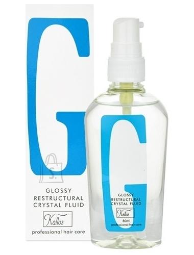 Kallos Glossy Restructural Crystal juukseõli 80 ml