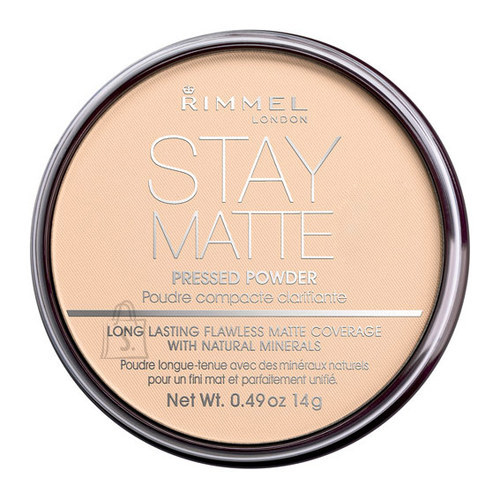 Rimmel London Stay Matte Long Lasting Pressed powder kivipuuder 14 g Warm Beige