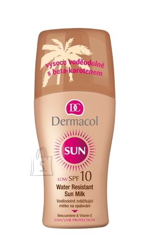 Dermacol Sun Milk Spray SPF10 päikesekaitse sprei 200 ml