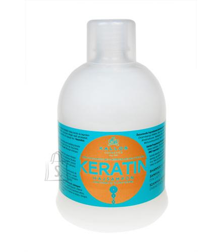 Kallos Keratin šampoon 1000 ml