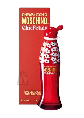 Moschino Cheap And Chic Chic Petals tualettvesi naistele EdT 50ml