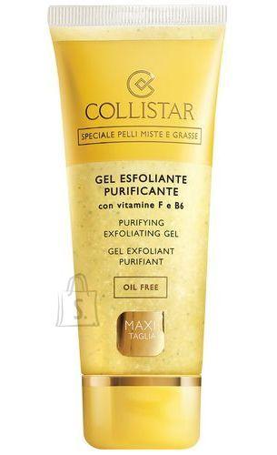 Collistar Purifying Exfoliating Gel õlivaba kooriv näogeel 100 ml