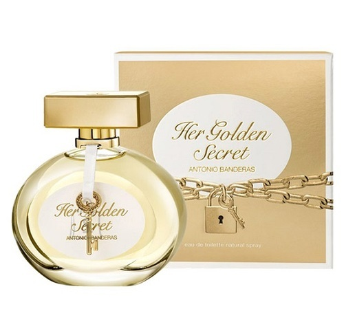 Antonio Banderas Her Golden Secret 80ml naiste tualettvesi EdT