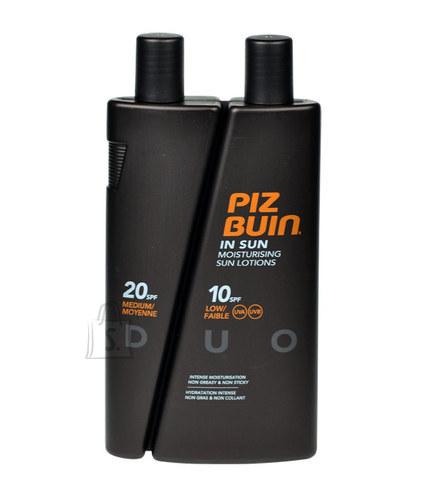 Piz Buin In Sun Lotion DUO SPF10 + SPF20 päevituskreemi komplekt 300 ml