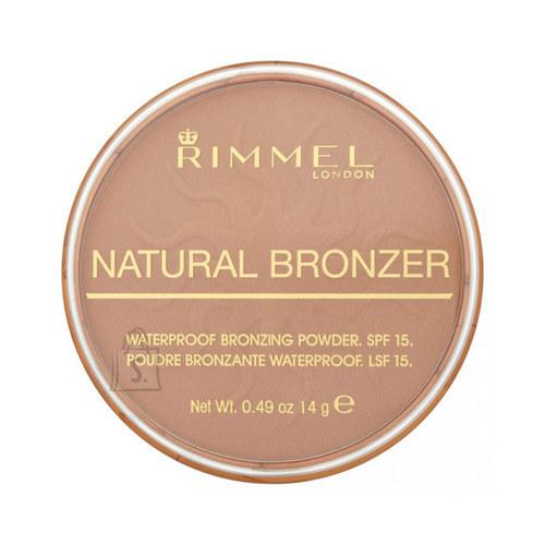 Rimmel London Natural Bronzer Waterproof SPF15 päikesepuuder 14 g