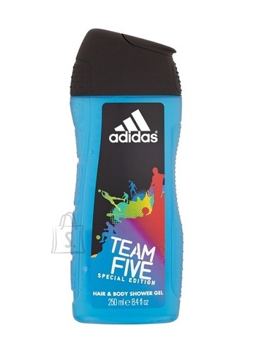 Adidas Team Five meeste dušigeel 250 ml