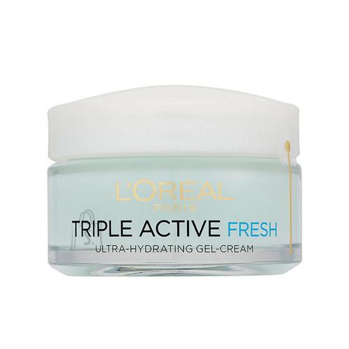 L´Oreal Paris Triple Active Fresh Hydrating geelkreem 50 ml