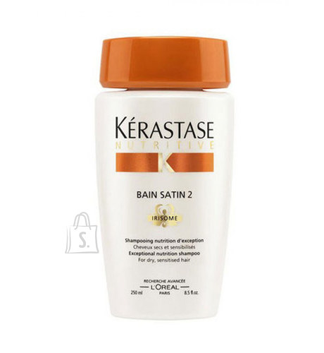 Kérastase Nutritive Bain Satin 2 Irisome Dry Sensitised Hair šampoon 250 ml