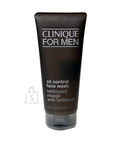 Clinique For Men Oil Control Face Wash puhastusgeel 200 ml