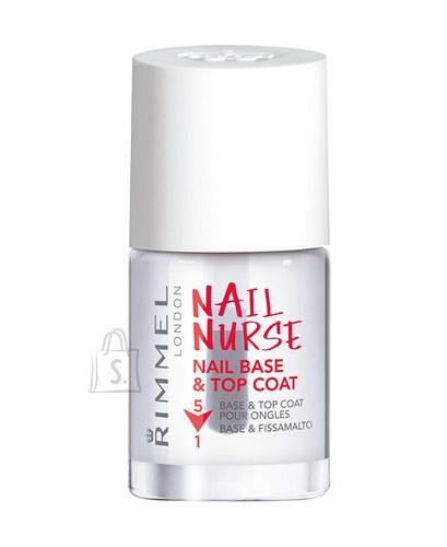 Rimmel London Nail Nurse Nail Base & Top Coat alus- ja pealislakk 12 ml