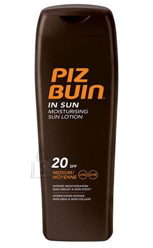 Piz Buin In Sun SPF20 niisutav päikesekaitse kreem 200 ml