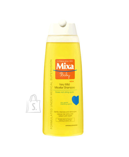 Mixa Baby Very Mild Micellar šampoon 250 ml
