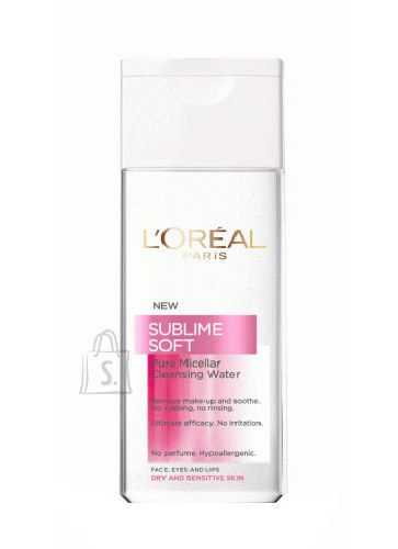L´Oréal Paris Sublime Soft Pure Micellar Water näovesi 200 ml