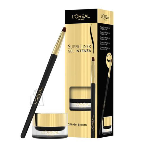 L´Oreal Paris Super Liner Gel Intenza 24h geeljas silmalainer 2.8 g must