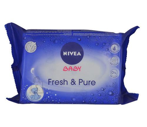 Nivea Baby Fresh & Pure puhastusrätikud 63 tk