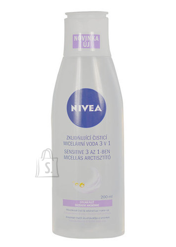 Nivea Sensitive 3in1 Micellar meigieemaldaja 200 ml