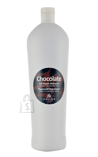 Kallos Cosmetics Chocolate Full Repair šampoon 1000 ml