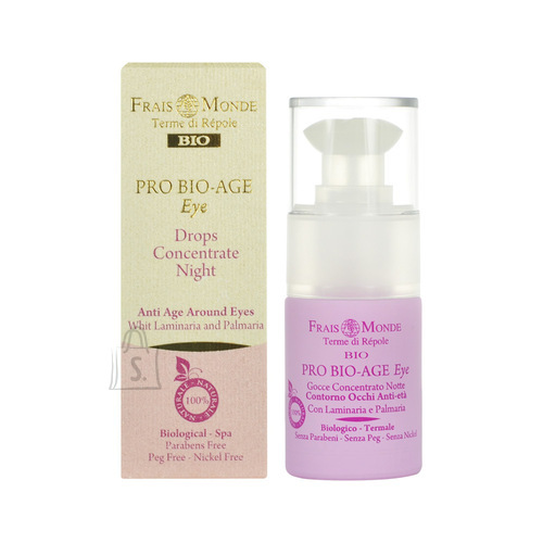 Frais Monde Pro Bio-Age Eye Drops Night Concentrate silmaümbruse seerum 15 ml