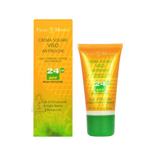 Frais Monde Face Tanning Lotion Anti-Wrinkle SPF24 näokreem 50 ml