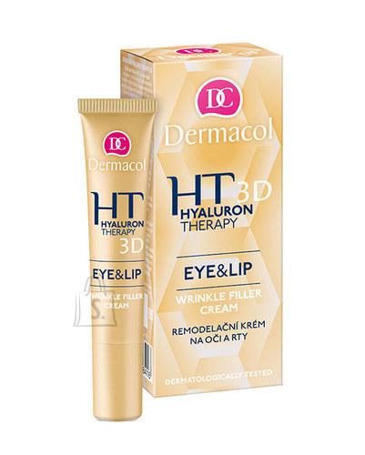 Dermacol Hyaluron Therapy 3D Eye & Lip Cream silma-ja huulekreem 15 ml