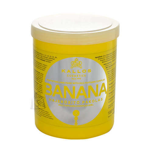 Kallos Cosmetics Banana Fortifying juuksemask 1000 ml