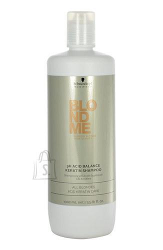 Schwarzkopf Blond Me pH Acid Balance Keratin šampoon 1000ml