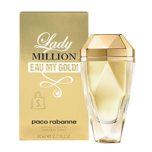 Paco Rabanne Lady Million Eau My Gold! tualettvesi naistele EDT 50ml