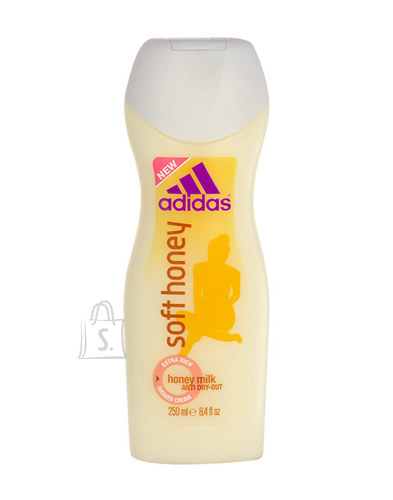 Adidas Soft Honey dušigeel naistele 250 ml