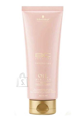 Schwarzkopf BC Bonacure Oil Miracle roosiõliga šampoon 200 ml