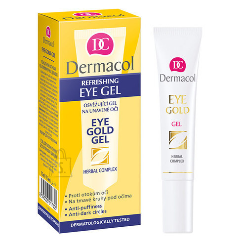 Dermacol Eye Gold silmaümbruse geel 15 ml