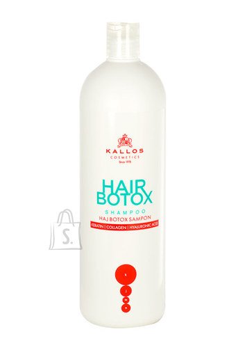Kallos Hair Botox Shampoo juuksešampoon 1000 ml