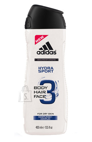 Adidas 3in1 Hydra Sport meeste dušigeel 250 ml