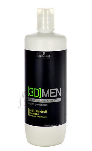 Schwarzkopf 3DMEN kõõmavastane šampoon 1000 ml