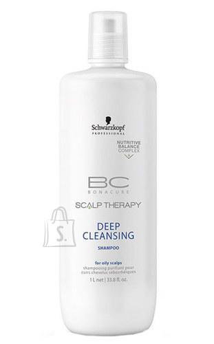 Schwarzkopf BC Bonacure Scalp Therapy sügavpuhastav šampoon 1000 ml