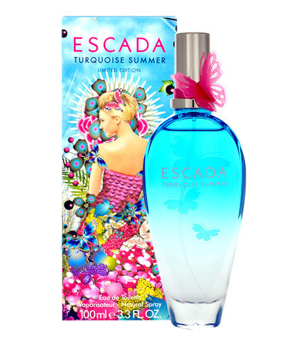 Escada Turquoise Summer tualettvesi naistele EdT 100 ml