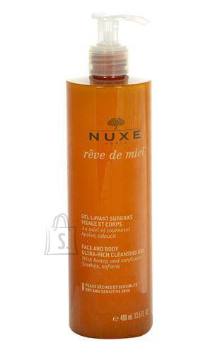 Nuxe Reve de Miel puhastusgeel näole ja kehale 400 ml